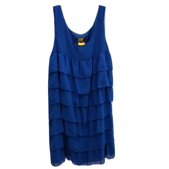 Ali Ro Dresses & Skirts - Ali Ro Blue Chiffon Dress